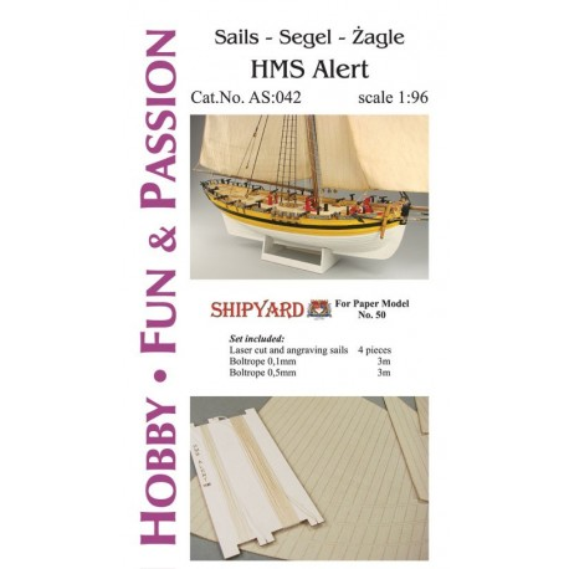 AS:042 Sails HMS Alert