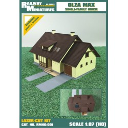 RMH0:001 Olza Max Single-Family House 1:87 (H0)